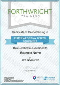 Assessing-Display-Screen-Equipment-Sample-Certificates-Forthwright-Training