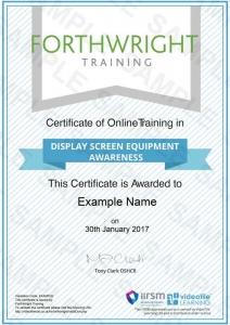 Display-Screen-Equipment-Awareness-Sample-Certificates-Forthwright-Training