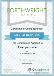 Manual-Handling-Sample-Certificates-Forthwright-Training