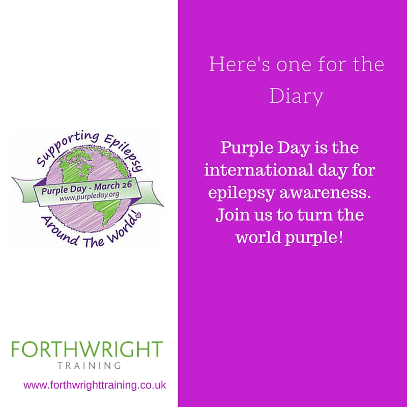 Epilepsy Awareness Day Forthwright Training