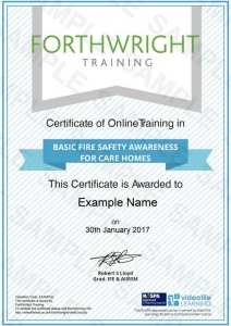 Basic-Fire-Safety-Awareness-For-Care-Homes-Sample-Certificates-Forthwright-Training